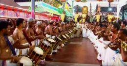 ഗുരുവായൂർ ക്ഷേത്രത്തിലെ ഉല്സവത്തിന് കൊടിയിറങ്ങി