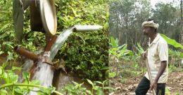 പന്നിയെ തുരത്താൻ ജലചക്രം; ഹിറ്റായി ജോർജ് വർഗീസിന്റെ കണ്ടുപിടുത്തം