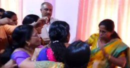 കുന്നംകുളം നഗരസഭ കൗണ്സില് യോഗത്തില് കയ്യാങ്കളി