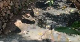 ജവഹർ നവോദയ വിദ്യാലയത്തിലെ മാലിന്യങ്ങൾ തോട്ടിലേക്കു ഒഴുക്കുന്നതായി പരാതി