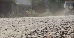 കണ്ണൂർ കുഞ്ഞിമംഗലം -പുതിയ പുഴക്കര യാത്ര ദുസ്സഹം;  പ്രതിഷേധം