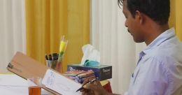 കാരിക്കേച്ചറുകൾ വരച്ച് ഗിന്നസ് റെക്കോർഡിൽ ഇടം പിടിച്ച മലയാളി