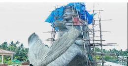 കേരളത്തിലെ ഏറ്റവും വലിയ മത്സ്യകന്യക ശിൽപം പ്രതിസന്ധിയിൽ