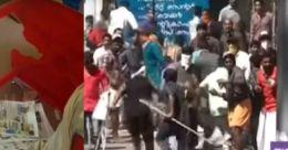 ഹര്ത്താലില് തിരുവനന്തപുരം ജില്ലയില് വന് സംഘര്ഷം; പ്രവര്ത്തകര് ഏറ്റുമുട്ടി