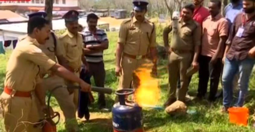 nilakkal-fire-force-training