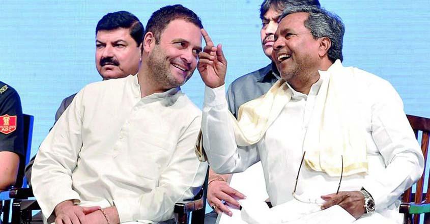 Siddaramaiah-Rahul