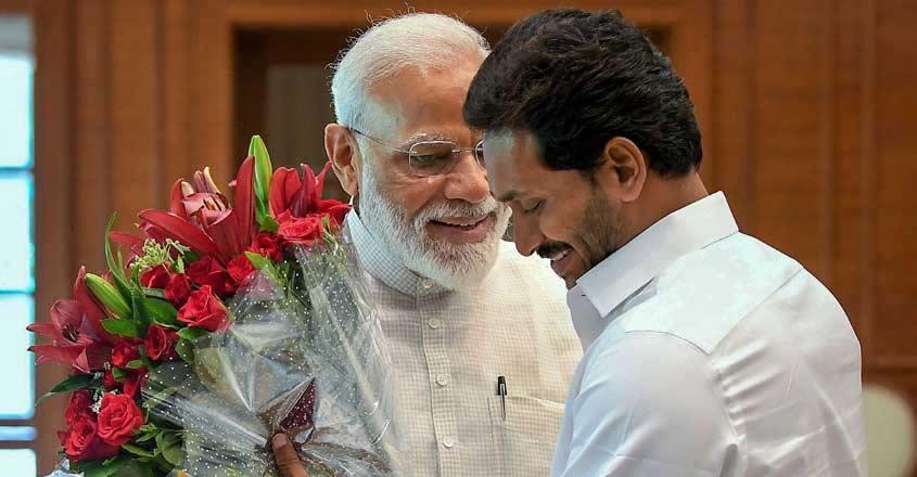 Narendra Modi and Jagan Mohan Reddy