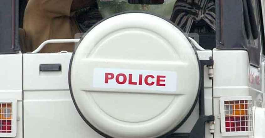 Kerala-police-jeep