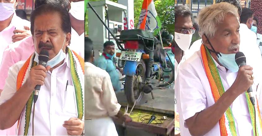 congress-petrol-protest
