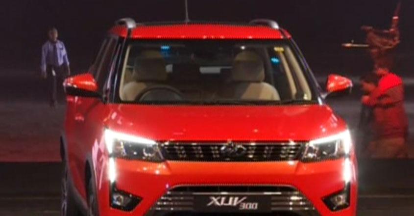 Mahindra-XUV300-car