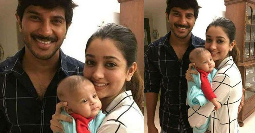 dulquer-daugher