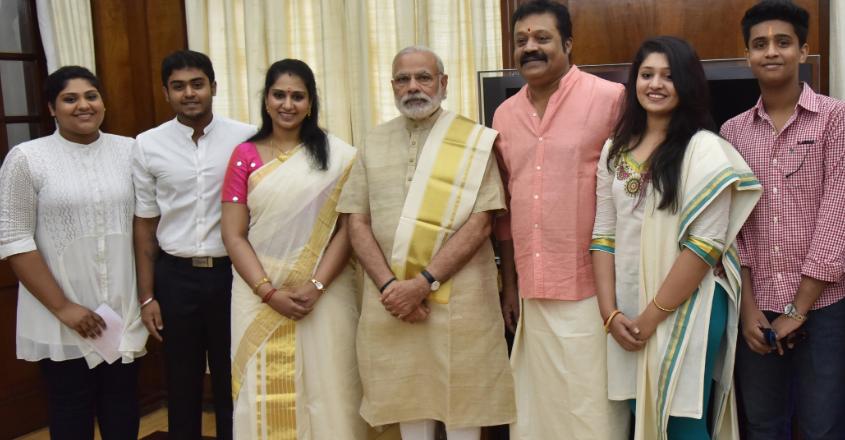 suresh-gopi-bhaavni-gokul-wife-4