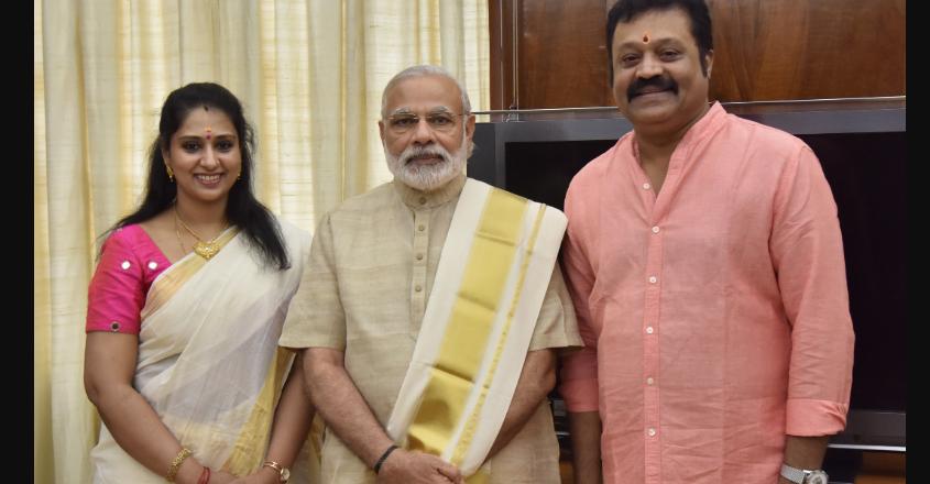 suresh-gopi-bhaavni-gokul-wife-5