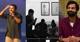 'ദാസന്റെയും വിജയന്റെയും മക്കൾ; പാടി താളമിട്ട് വിനീതും പ്രണവും; വിഡിയോ