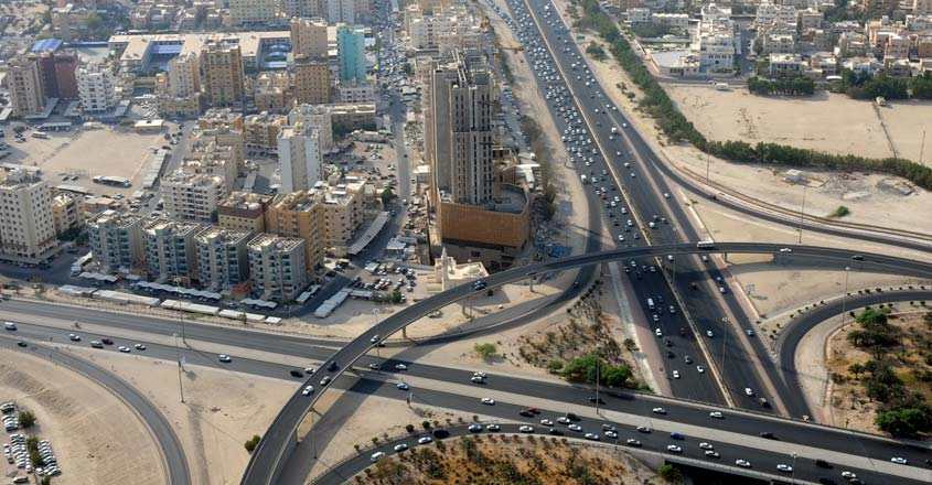 Kuwait-City-road