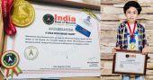 ദിനോസറുകളുടെ തോഴൻ; ചരിത്രമെഴുതി അബുദാബിയിലെ ഈ മലയാളി ബാലൻ