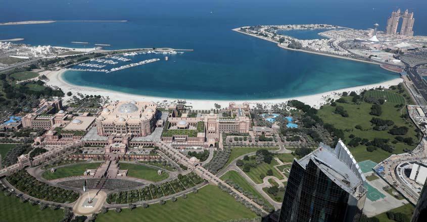UAE-ABU DHABI-VIEW