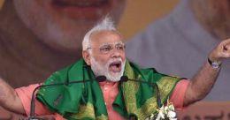 കർണാടക തിരഞ്ഞെടുപ്പോടെ കോൺഗ്രസ് രണ്ടു സംസ്ഥാനങ്ങളിലൊതുങ്ങും: മോദി