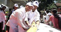ഇരുപത്തിയൊന്നു മിനിറ്റ് കൊണ്ട് ഭീമൻ സാൻവിച്ച്, നേട്ടം ലിംക ബുക്ക് ഓഫ് റെക്കോർഡ്സ്