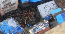 മുംബൈയിൽ ബഹുനില കെട്ടിടം തകർന്ന് 12 മരണം; നിരവധി പേർ കുടുങ്ങിക്കിടക്കുന്നു