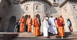 'മഠത്തിൽ മോദിയുടേത് രാഷ്ട്രീയ പ്രസംഗം'; അതൃപ്തി അറിയിച്ച് സന്യാസിമാർ; വിവാദം