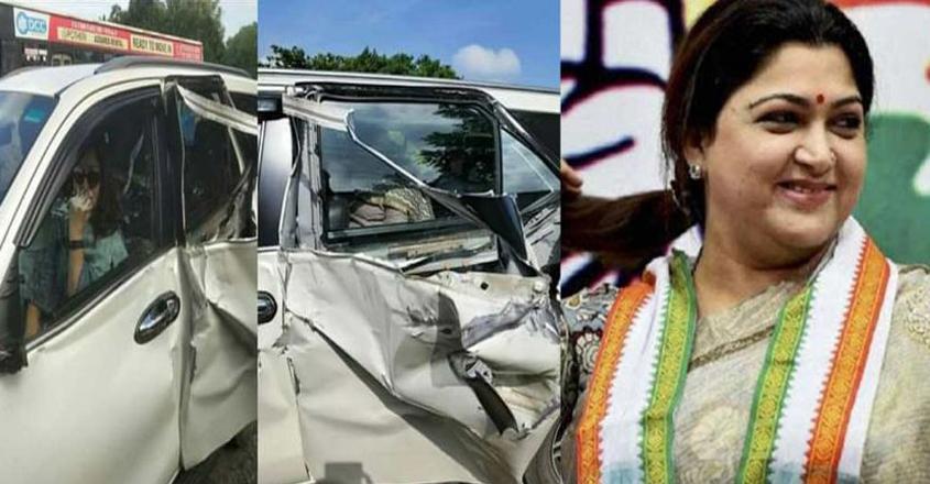 Kushboo-accident