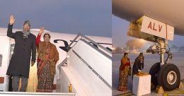 എയർ ഇന്ത്യ വൺ രാഷ്ട്രപതിയുമായി ചെന്നൈയിൽ പറന്നിറങ്ങി; ഉദ്ഘാടനയാത്ര