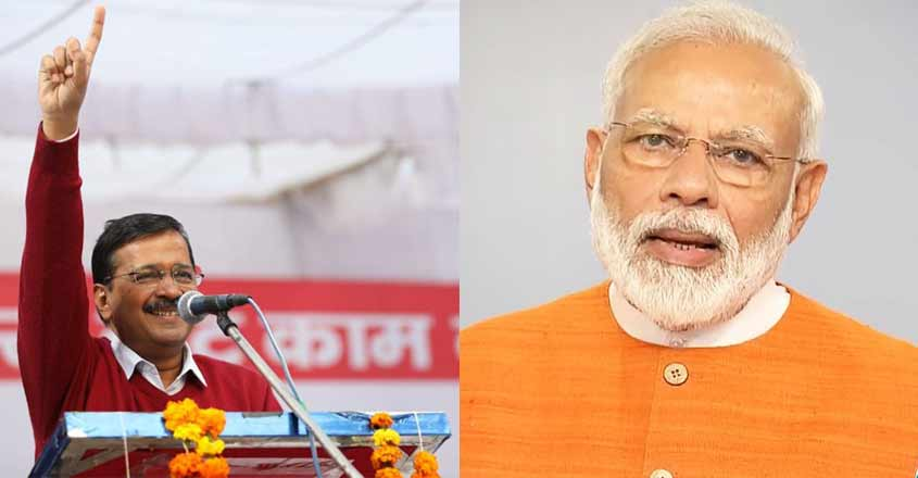 modi-kejriwal-election