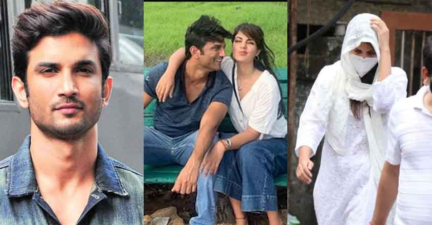police-questioned-rhea-chakraborty-on-sushant-death