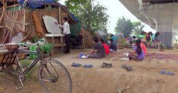 യമുനാതീരത്തെ പള്ളിക്കൂടം; ഓൺലൈൻ ക്ലാസ് അന്യമായവർക്ക് കൈത്താങ്ങ്