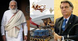 'ഹനുമാൻ മൃതസഞ്ജീവനി കൊണ്ടുവന്ന പോലെ'; ഇന്ത്യയ്ക്ക് നന്ദിയെന്ന് ബ്രസീൽ