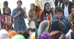 'മോദി അഹങ്കാരിയും ഭീരുവും; കർഷകരോട് സംസാരിക്കുന്നില്ല'; യുപിയിൽ സജീവമായി പ്രിയങ്ക
