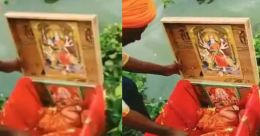 'ഗംഗാദേവിയുടെ സമ്മാനം'; മരപ്പെട്ടിയിൽ പിഞ്ചുകുഞ്ഞ്; രക്ഷിച്ച് ബോട്ട് ജീവനക്കാരൻ