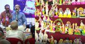 നവരാത്രി ആഘോഷങ്ങക്ക് തുടക്കം കുറിച്ച് ബൊമ്മക്കൊലു ഒരുങ്ങി