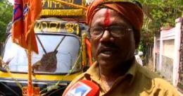 ചെങ്ങന്നൂരിലെ പ്രചാരണ വേദിയിൽ താരമായി യശോദരനും ഓട്ടോയും