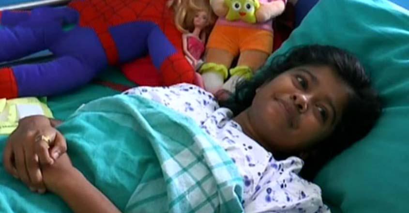 Hanaan-hospitalised