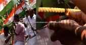യൂത്ത് കോണ്ഗ്രസിന് തീപ്പെട്ടി പുതിയ സമരായുധം; പൊലീസിനെ 'ചൂടാക്കി': വിഡിയോ