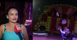 റിങ്ങിലും 'വോട്ടു'ചർച്ച; സർക്കസ് കൂടാരത്തിലെ തിരഞ്ഞെടുപ്പ് ആവേശം