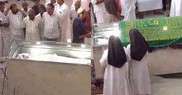 ആദരാഞ്ജലി അര്പ്പിക്കാന് വന്ജനാവലി; അന്സിയുടെ മൃതദേഹം കബറടക്കി
