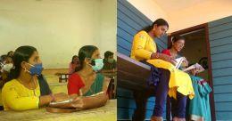 പ്രായം വെറും നമ്പര്; പരീക്ഷയ്ക്കൊരുങ്ങി 56കാരി അമ്മയും 36കാരി മകളും