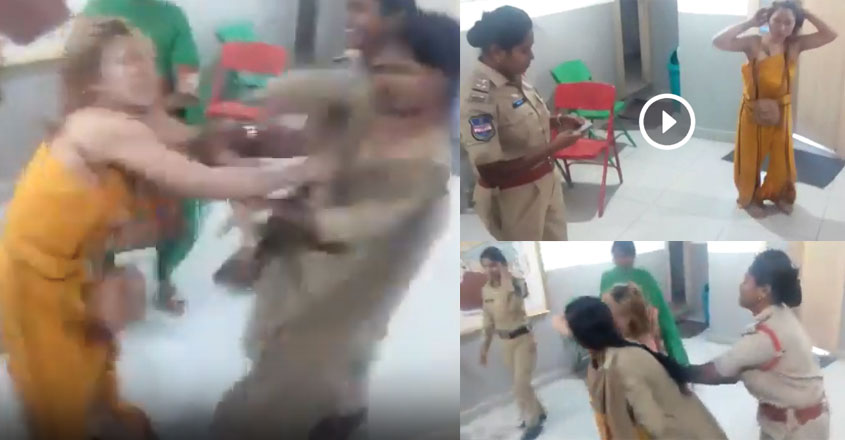 police-lady-attack