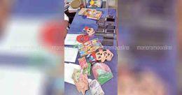 പടക്കം, മുഖംമൂടി, ആഢംബര ജീപ്പ്..അവസാന ദിനം 'പൊളിക്കാൻ' കുട്ടികൾ; ഒടുവിൽ സ്റ്റേഷനിൽ