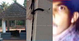 ക്ഷേത്രത്തിലെ സിസിടിവി ക്യാമറ കവർന്നു; മോഷ്ടാവിന്റെ ദൃശ്യങ്ങൾ ഹാർഡ് ഡിസ്കിൽ; കുടുങ്ങി