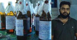 കാറിൽ കടത്തിയ 144 കുപ്പി മദ്യം പിടികൂടി; സംഘത്തിലെ പ്രധാനി പിടിയിൽ