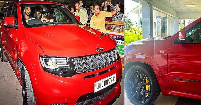 dhoni-new-car