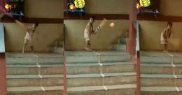 'ഇതാരാ ജൂനിയർ ക്രിസ് ഗെയിലോ'; പന്തുകളെല്ലാം അടിച്ചു പറത്തുന്ന കുട്ടി; വിഡിയോ