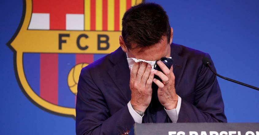 SOCCER-SPAIN-FCB/MESSI