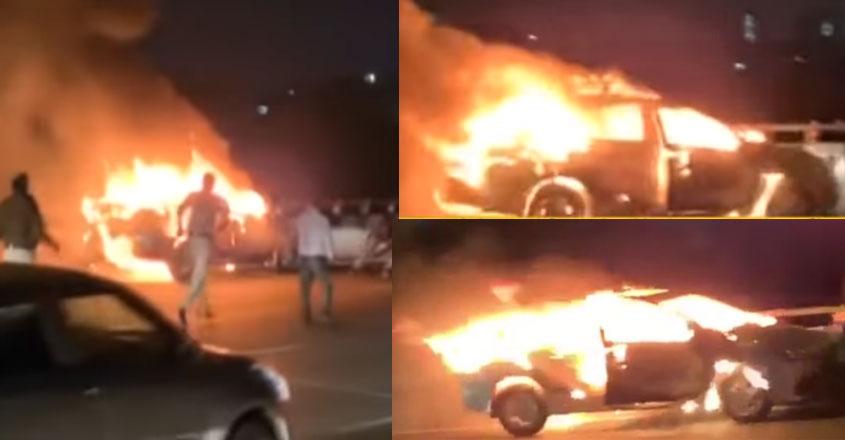 car-fire-viral-video