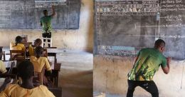 ബോര്ഡ് കംപ്യൂട്ടറാക്കിയ അധ്യാപകന് ലോകത്തിന്റെ കയ്യടി; ഒരപൂര്വ വിജയഗാഥ