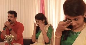 'വെണ്ണിലാക്കൊമ്പിലേ രാപ്പാടി..'; പെങ്ങളുടെ കല്യാണത്തിന് കണ്ണുനിറഞ്ഞ് ഏട്ടന്റെ പാട്ട്: വിഡിയോ